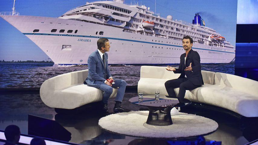 """Markus Lanz und Florian Silbereisen bei """"Menschen 2019 - der ZDF Jahresrueckblick"""" 2019"""