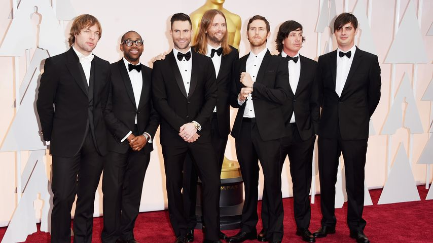 Maroon 5 bei der Oscar-Verleihung 2015