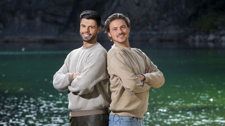 "Martin Angelo und Dominic Smith bei ""#CoupleChallenge"", 2020"