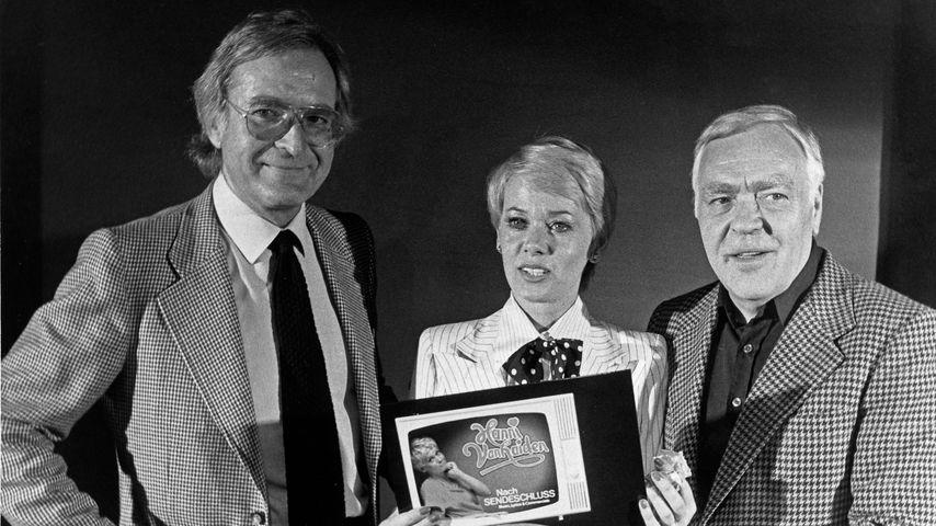 Martin Böttcher, Hanni Vanhaiden und Walter Haas in den 70ern