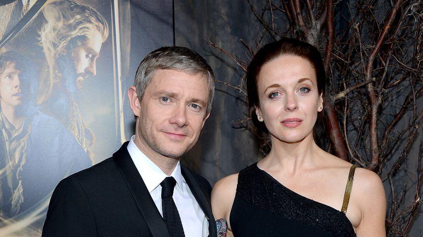 Martin Freeman und Amanda Abbington, Schauspieler