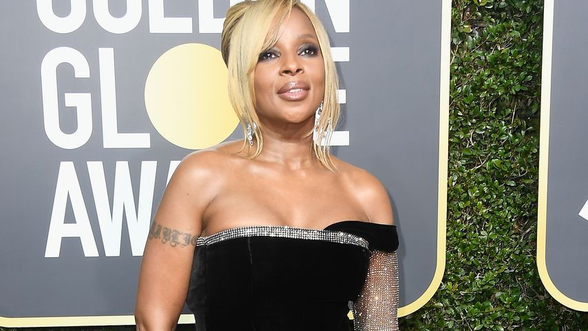 Mary J. Blige bei den Golden Globe Awards 2018