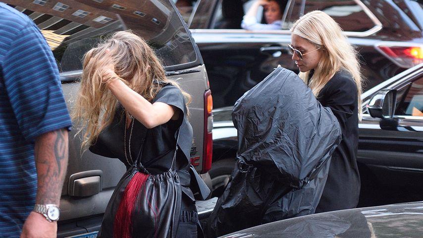Mary-Kate Olsen und Ashley Olsen in New York
