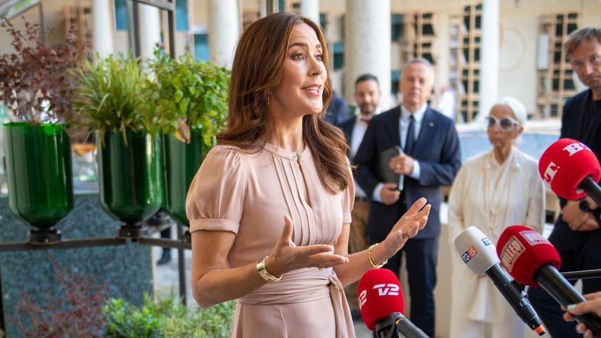 Mary von Dänemark im September 2021 in Mailand