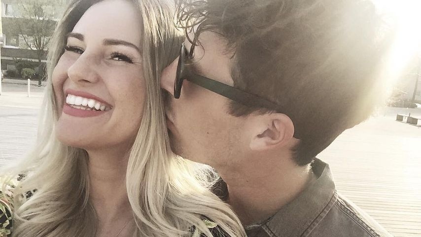 MaryM mit ihrem Verlobten Tobias Wolf