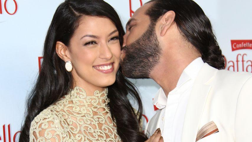 """Sie sagten """"Ja""""! Rebecca Mir & Massimo haben geheiratet"""