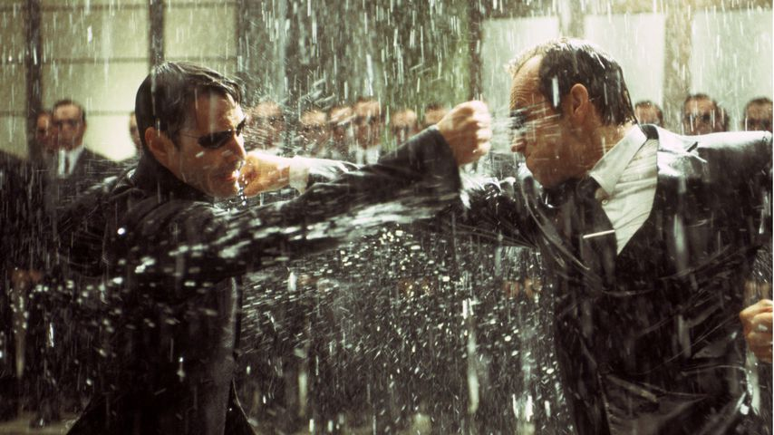 """Matrix Revolutions"" aus dem Jahr 2003 mit Keanu Reeves (l.) als Neo"