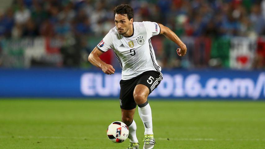 Mats Hummels beim Spiel Deutschland gegen Italien 2016