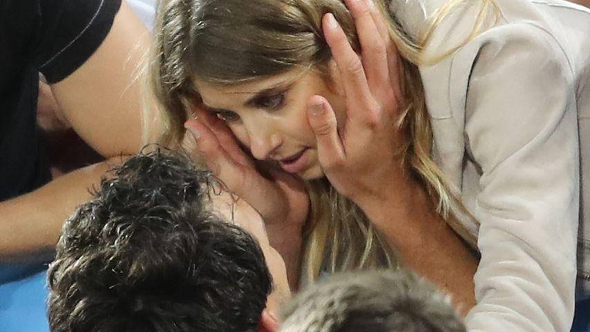 Mats und Cathy Hummels bei der Fußball-EM in Frankreich