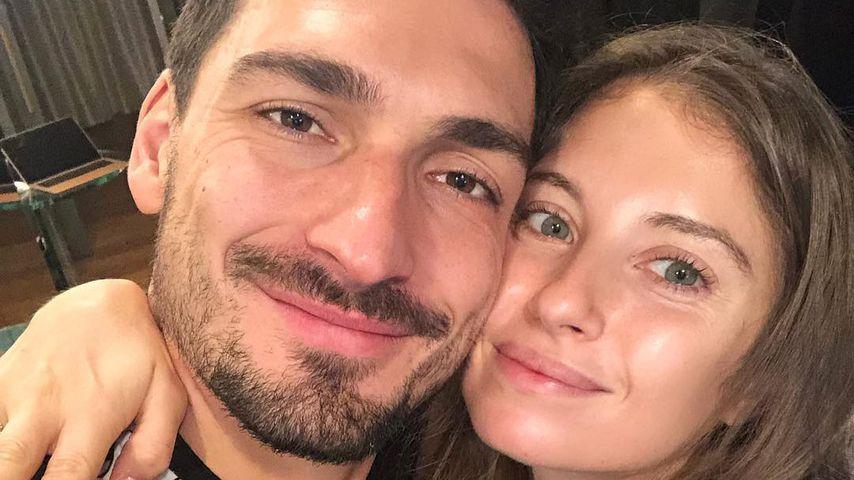 Mats und Cathy Hummels, Dezember 2018