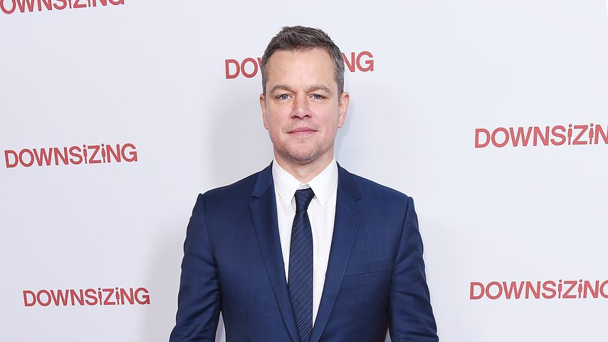 "Matt Damon bei der ""Downsizing""-Premiere"