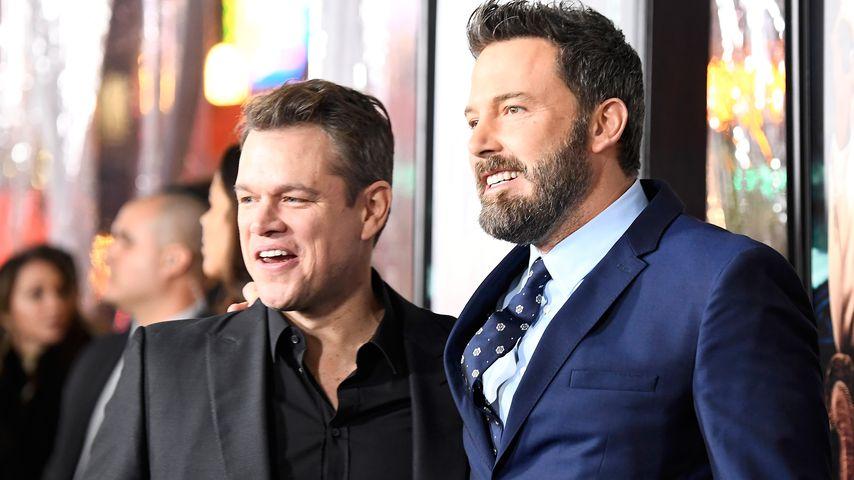 """Matt Damon und Ben Affleck bei der """"Live By Night""""-Premiere, 2017"""