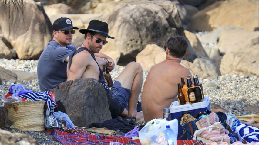 Matt Damon und Chris Hemsworth in Byron Bay (Australien)