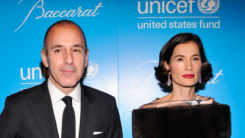 Matt Lauer und Annette Roque beim Unicef SnowFlake Ball im November 2012