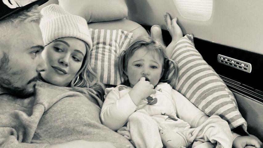 Matthew Koma, Hilary Duff und ihre Tochter Banks