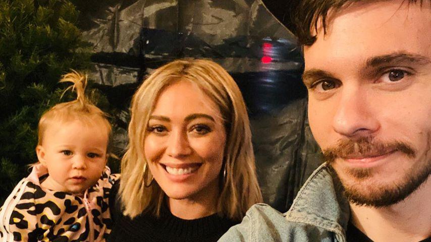 Matthew Koma mit Hilary Duff und den Kindern