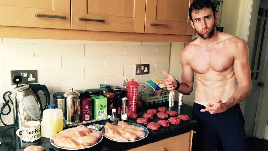 """Fleischbeschau: """"Harry Potter""""-Neville zeigt seine Muskeln"""