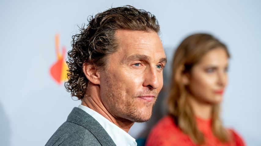Matthew McConaughey im September 2018