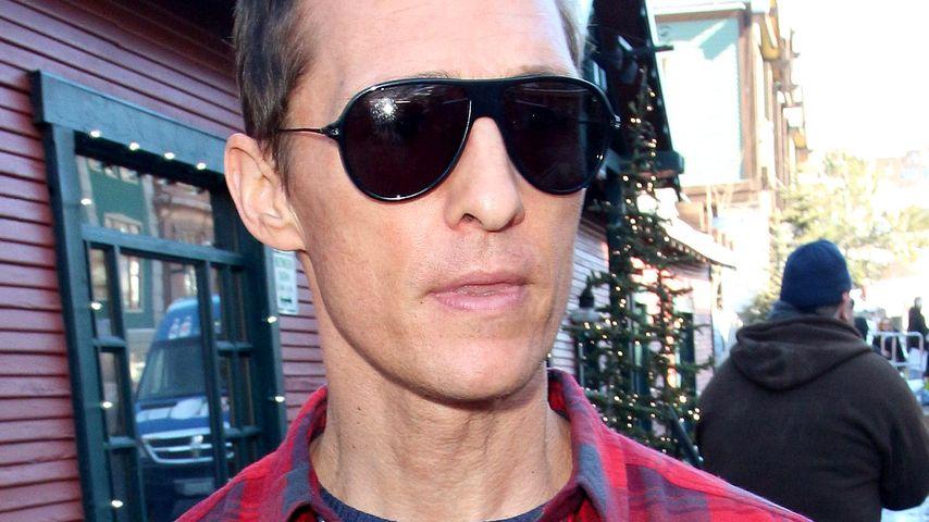 Matthew McConaughey: Haarschnitt nur bei Vollmond!