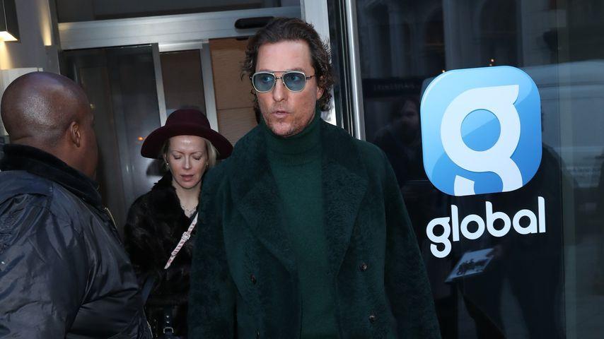 Matthew McConaughey in London