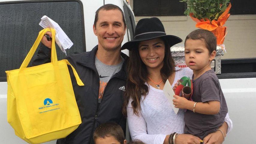 So süß! Erst sein Sohn machte Matthew McConaughey zum Mann