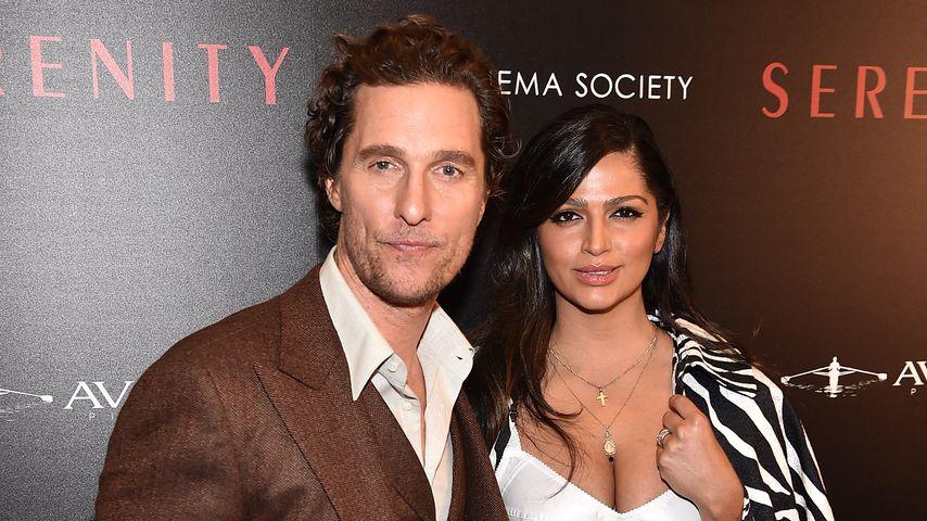 Matthew McConaughey und seine Ehefrau Camila Alves im Jahr 2019