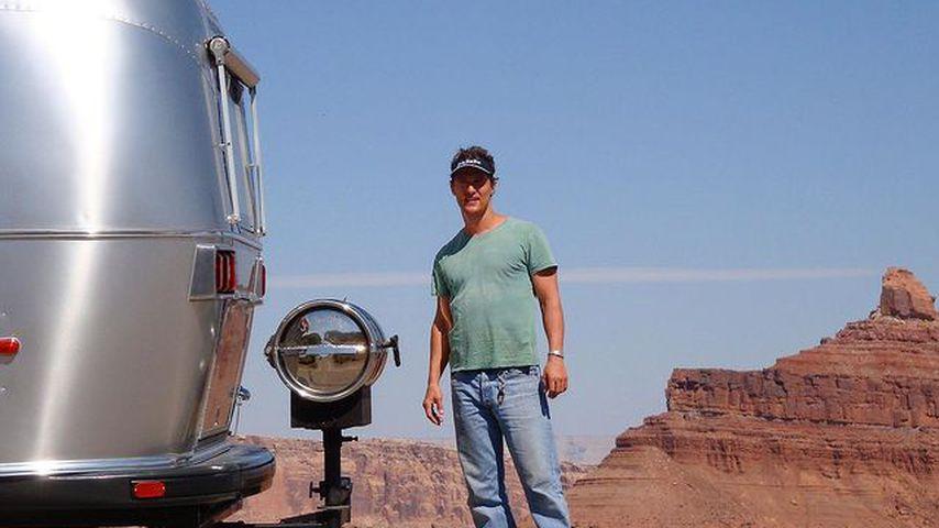 Trotz Luxusvilla: Matthew McConaughey schläft im Wohnwagen