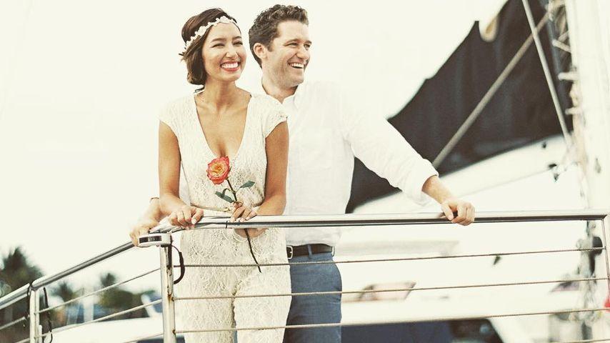 Schauspieler Matthew Morrison und seine Frau
