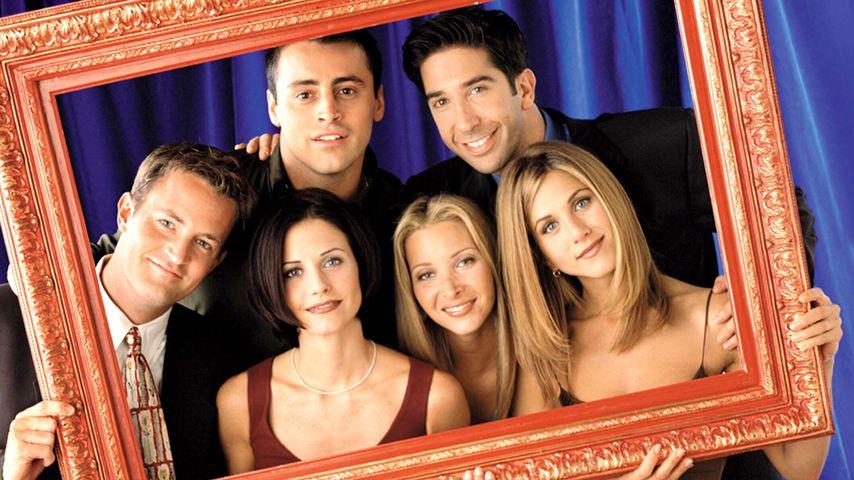 Matthew Perry, Courteney Cox, Matt LeBlanc, Lisa Kudrow, David Schwimmer und Jennifer Aniston