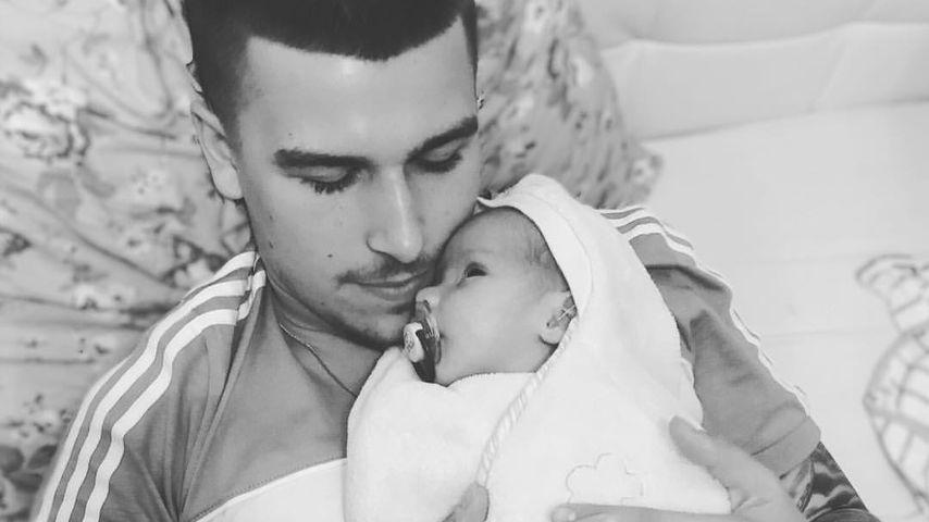 Offenes Knie bei Baby Milan: Matthias Höhn war geschockt