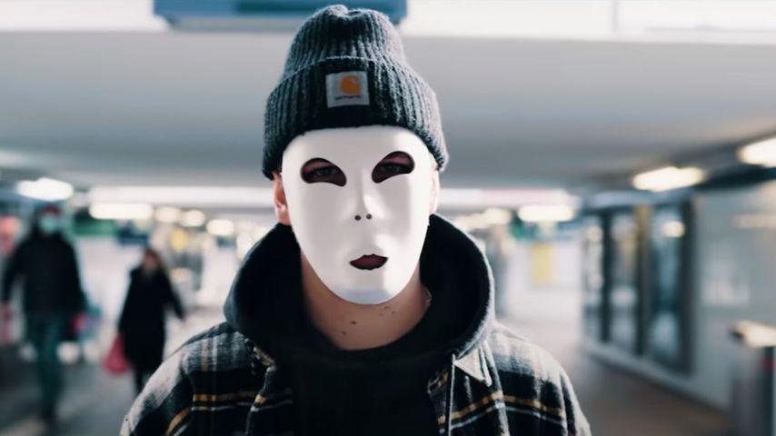 Matthias Höhns neue Maske