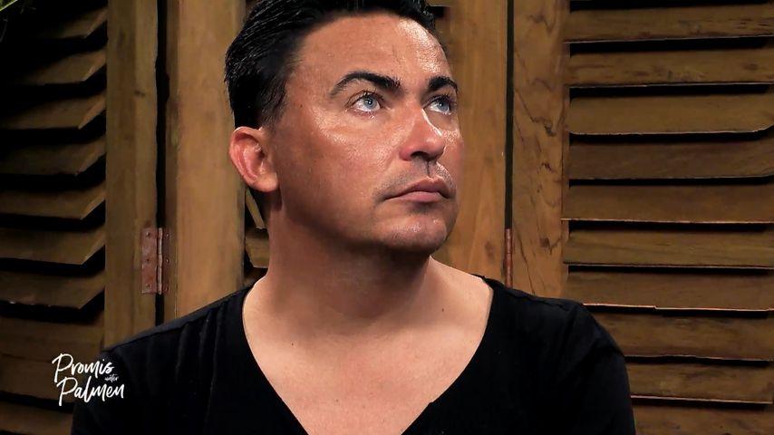 "Matthias Mangiapane bei ""Promis unter Palmen"""