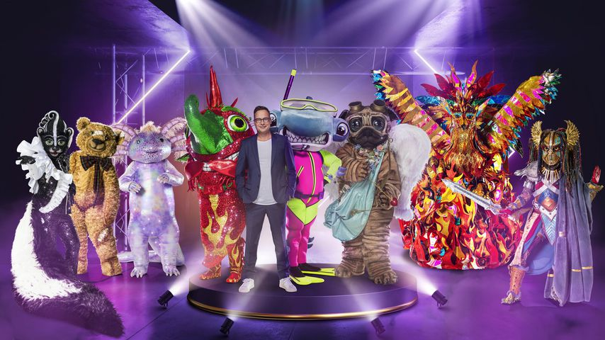 """Matthias Opdenhövel mit acht Kostümen aus der neuen """"The Masked Singer""""-Staffel"""