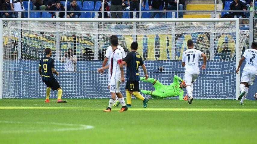 Mauro Icardi verschießt einen Elfmeter