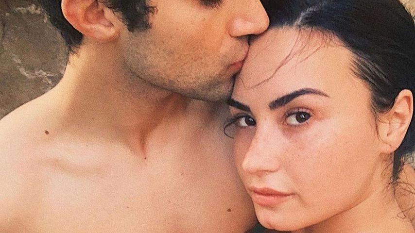 Demi Lovato mit ihrem Freund Max Ehrich