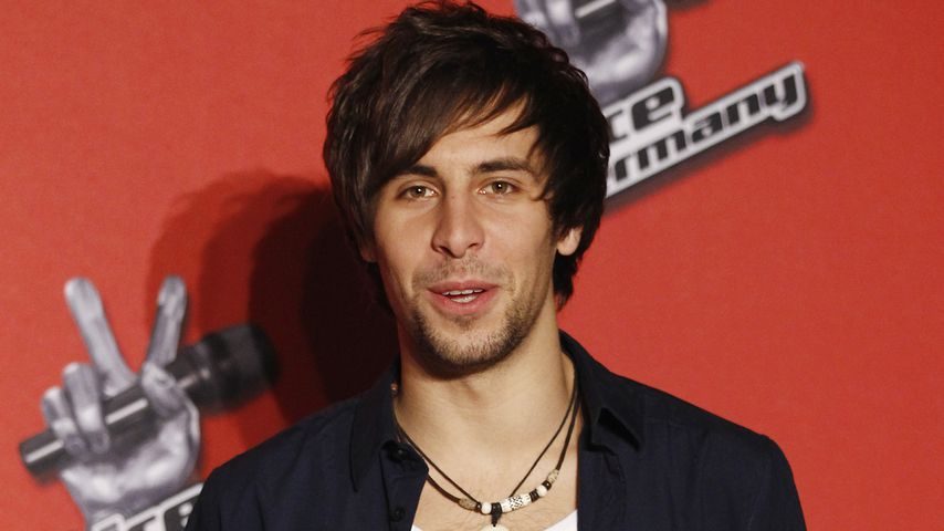 "Max Giesinger bei einem ""The Voice of Germany""-Fototermin"