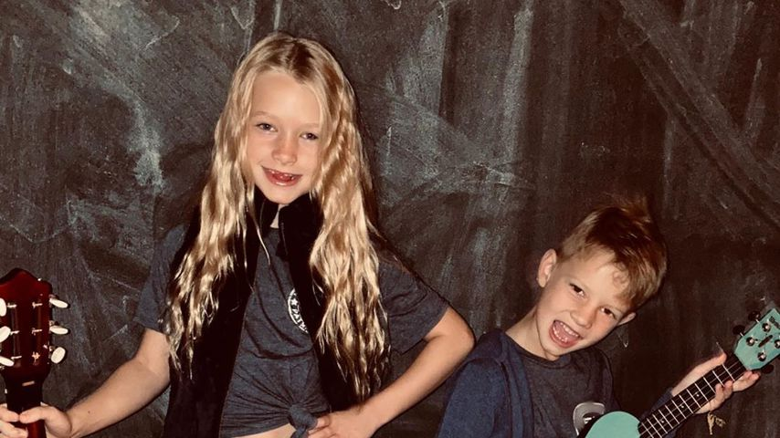 Jessica Simpsons Kids Maxwell und Ace