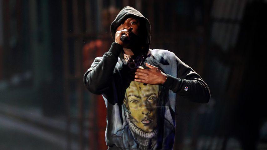 Meek Mill bei seinem Auftritt bei den BET Awards in Los Angeles