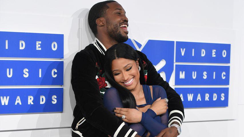 Meek Mill und Nicki Minaj bei den VMAs 2016