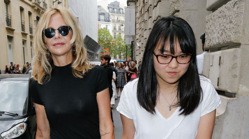 Meg Ryan und Daisy True Ryan in Paris