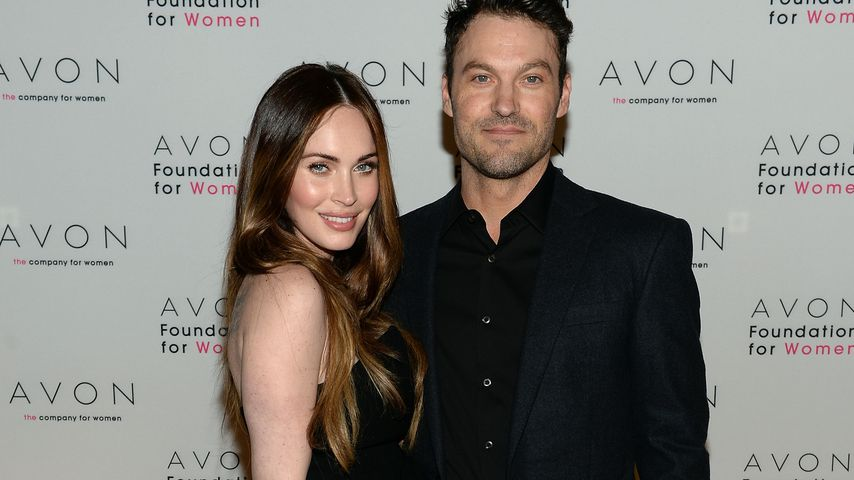 Megan Fox und Brian Austin Green im November 2013