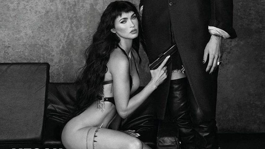 Heißestes GQ-Cover ever? Megan Fox ohne Slip und mit MGK