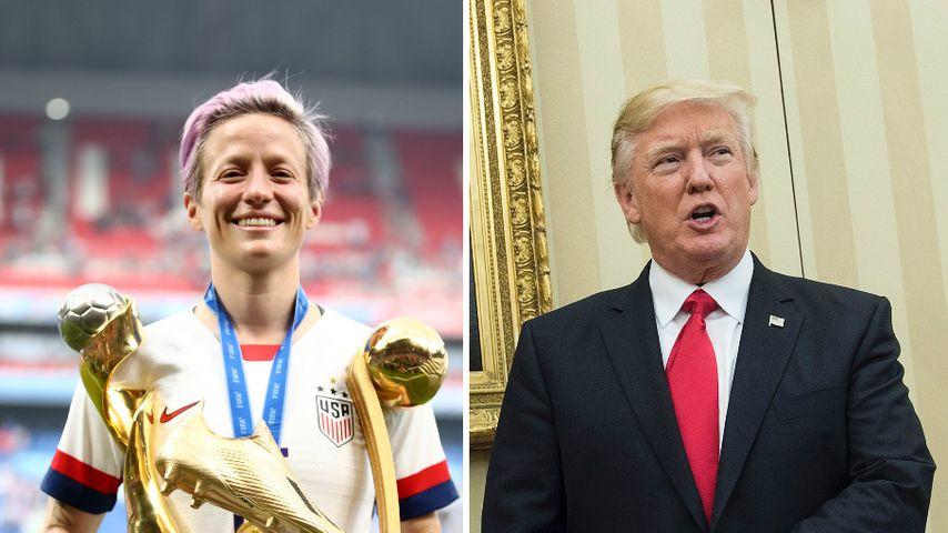 Nach WM-Erfolg: Lesbische US-Kickerin will Trump nicht sehen