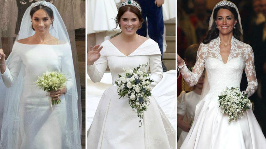 Kate, Meghan & Eugenie: Diese Royal-Braut ist die Schönste!