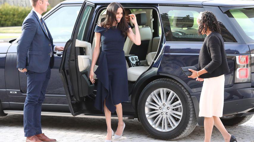 Herzogin Meghan soll Autotür nicht mehr selbst schließen