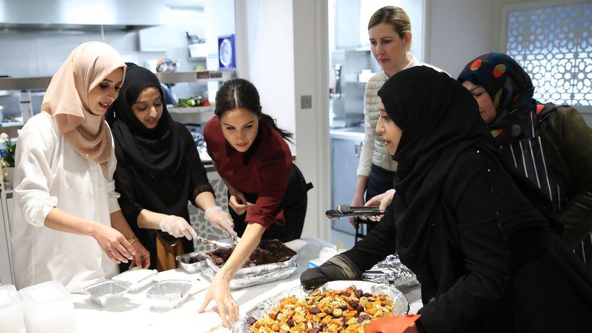Herzogin Meghan in der Hubb Community Kitchen