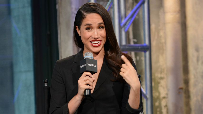 "Meghan Markle bei einer Diskussionsrunde zur Serie ""Suits"" bei AOL in New York"