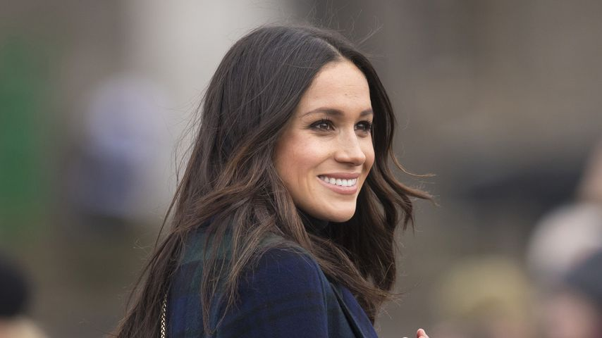 Meghan Markle in Edinburgh