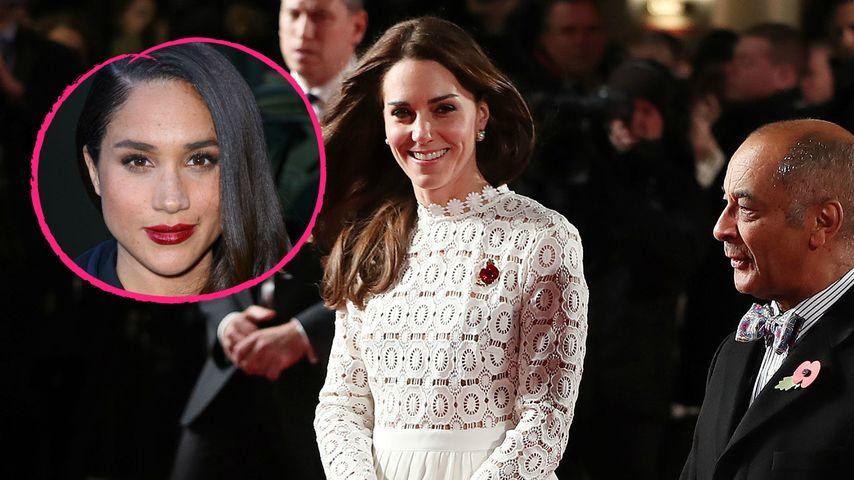 Heiratspotenzial: Herzogin Kate begeistert von Meghan Markle