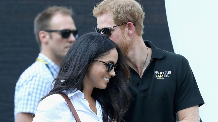 Meghan Markle und Prinz Harry bei den Invictus Games in Toronto